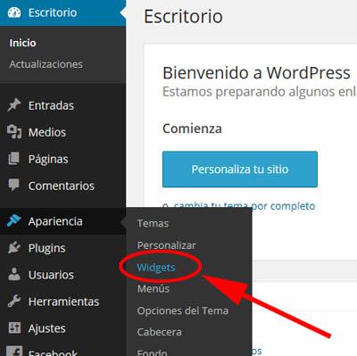 Widgets para Anuncios AdSense en WordPress