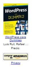 amazon wordpress para dummies