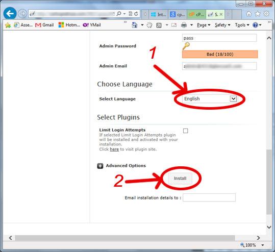 como instalar wordpress - wordPress install C