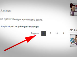 Paginacion en WordPress